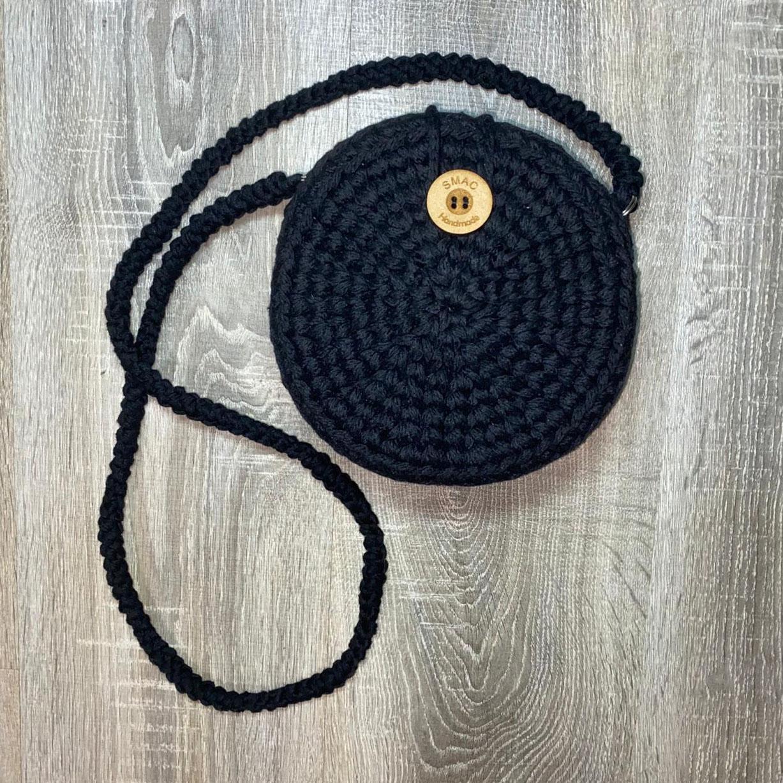 Black Bag Crochet