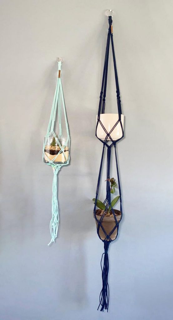 Macrame Hanging Baskets