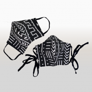 Black & White Tribal Face Masks (Large)
