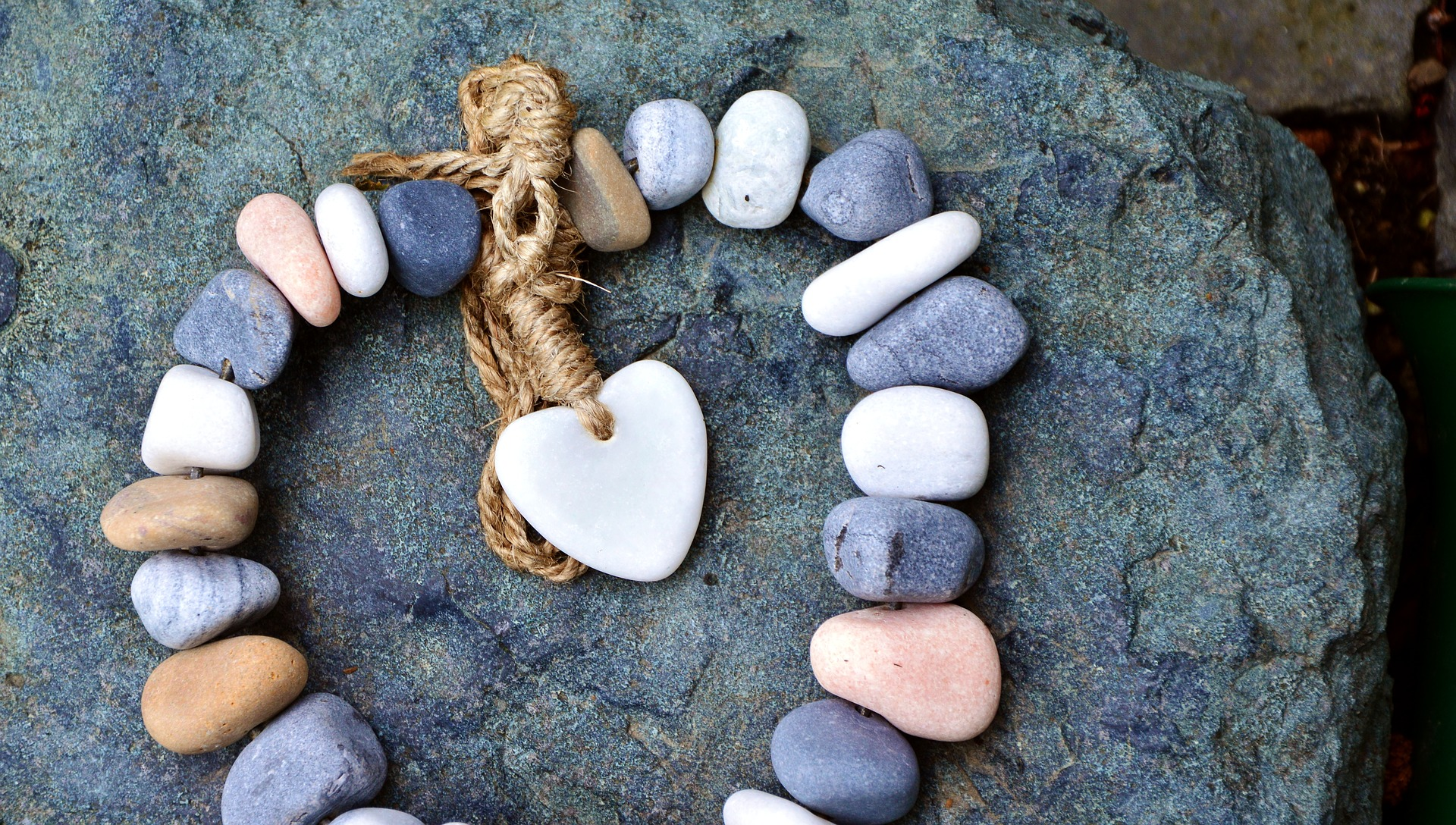 Heart and stones