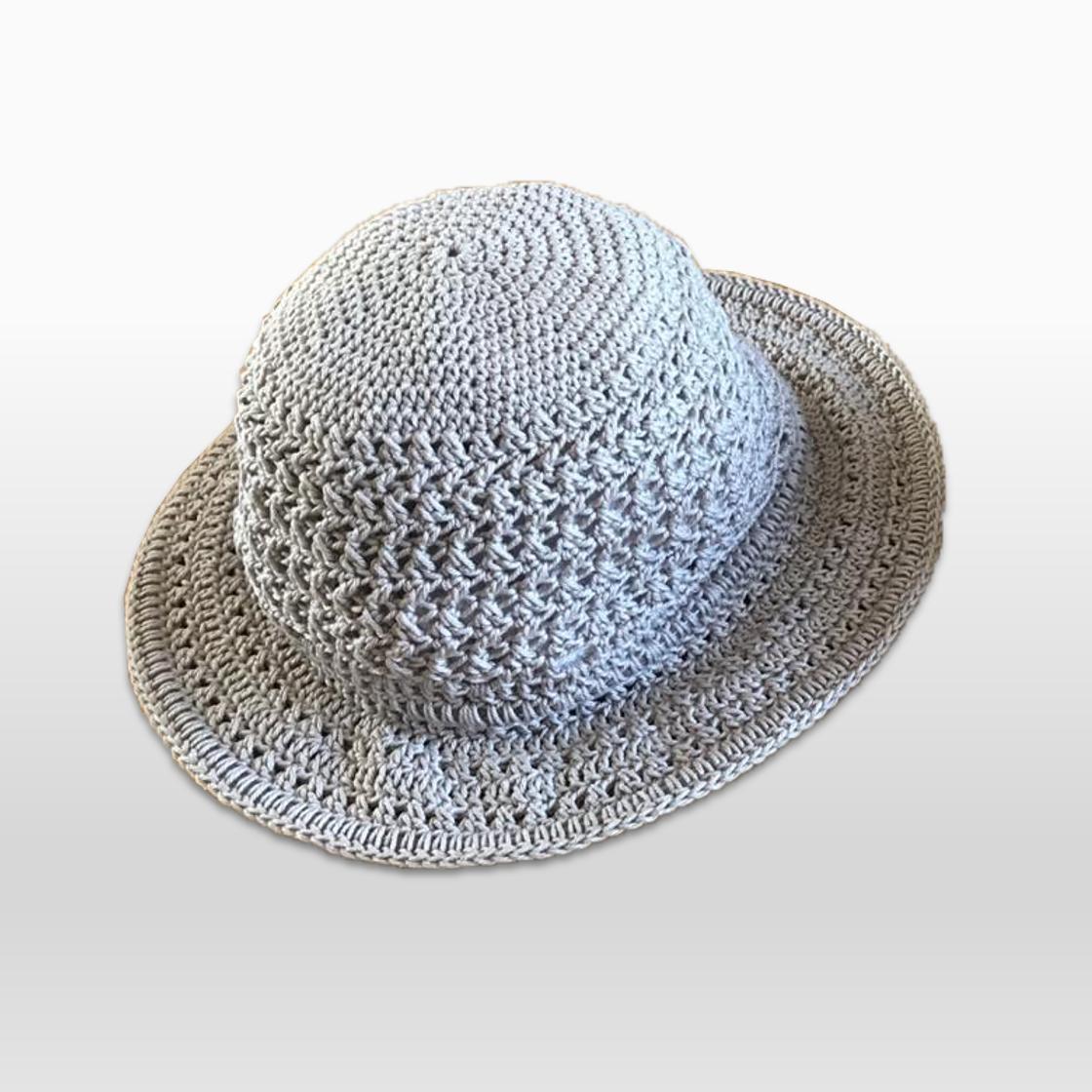 Crochet Hat Beige