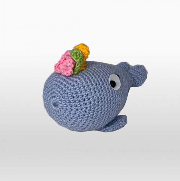 Wally The Whale Blue