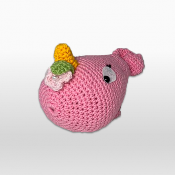 Wally The Whale Pink