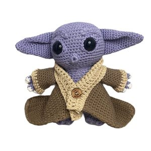 Baby Yoda Purple